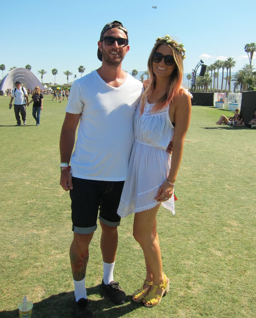 How sweet are they? She channels boho-femme; he's got just a little spunk.
