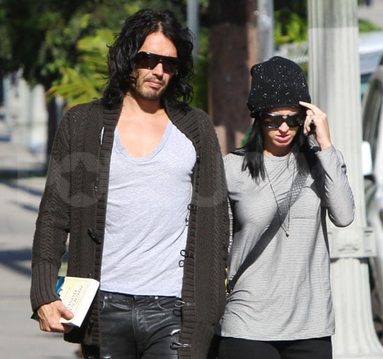 Pictures of Newlywed Russell Brand and Katy Perry Getting Brunch in LA