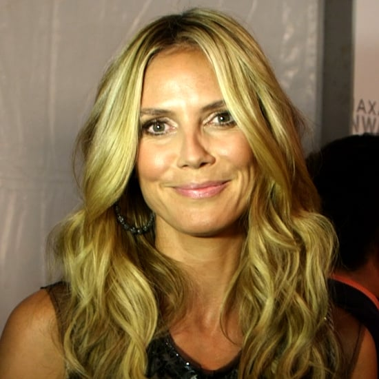 """Heidi Klum's Advice For Making a Gown Your Own: """"Just Chop It!"""""""