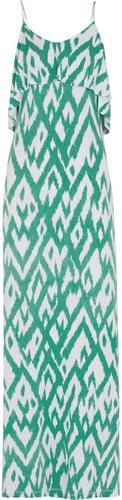 Tart Genie printed stretch-jersey maxi dress