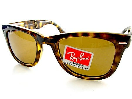Simply Fab: Folding Ray Ban Wayfarers