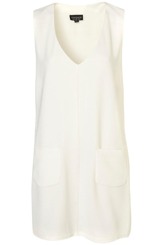 Topshop Pocket Shift Dress ($80)