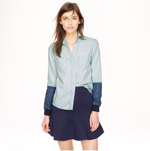 J.Crew Chambray Button-Down