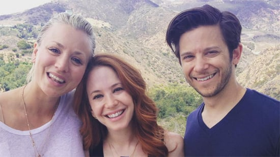 Kaley Cuoco Reunites With '8 Simple Rules' Co-Stars -- See the Cute Pic!