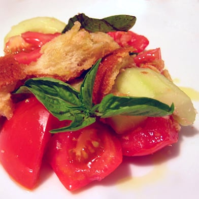Summer Supper: A16's Tuna Panzanella