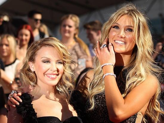 Kylie Minogue and Delta Goodrem