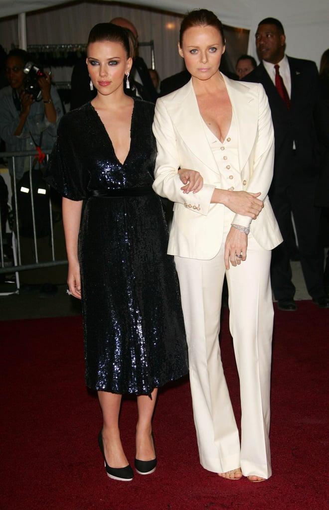 Scarlett Johansson and Stella McCartney —2006