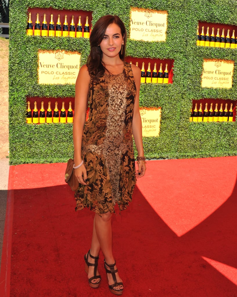Camilla Belle took a spin on the red carpet at the 2nd annual Veuve Clicquot Polo Classic.