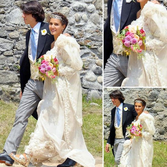 Margherita Missoni Got Married Over the Weekend — See Her Gorgeous Wedding Dress!