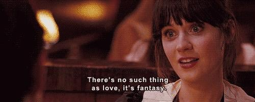 And there's Zooey Deschanel as Summer, who is decidedly NOT Jess Day in this movie.
