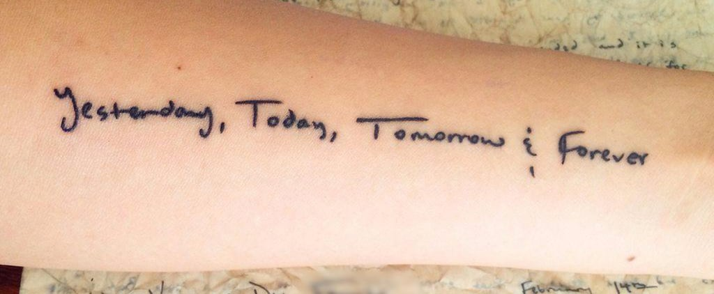 The Story Behind This Woman's Tattoo Will Move You to Tears
