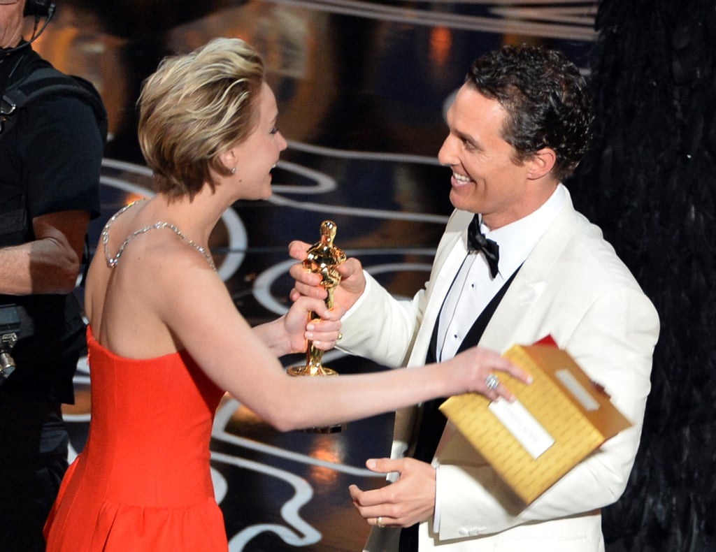 What Was Jennifer Lawrence Confused About on the Oscars Stage?