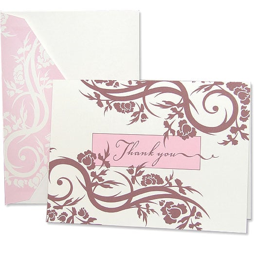 The Card Shop:  Swirls of Ivy Thank You Notes