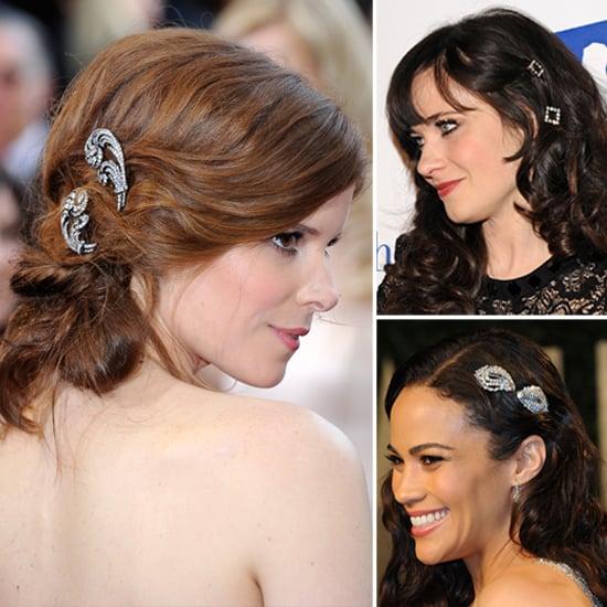 Rhinestone and Diamond Hair Accessories