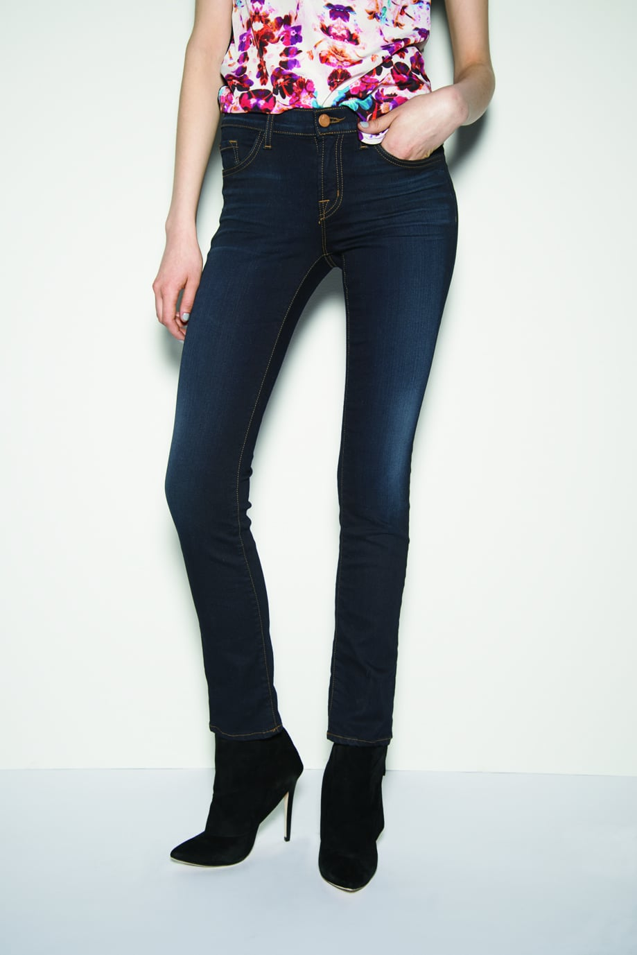 A classic dark jean ($120, originally $180) from cult favorite J Brand is one of the smartest sale buys around.