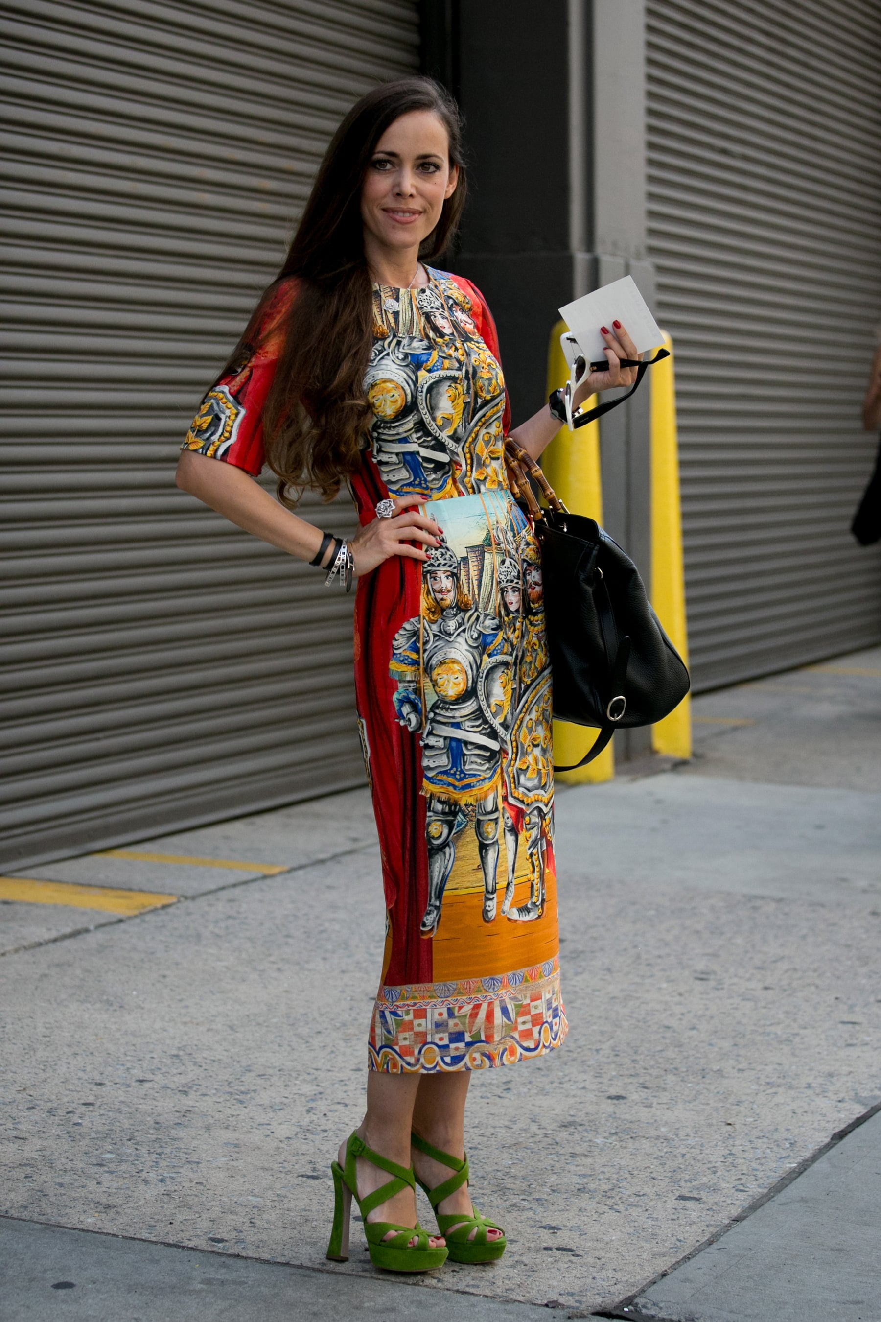 This Dress Was Made For The Streets Of Fashion Week Oh