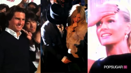 Video of Tom Cruise on the Red Carpet in Tokyo, Jude Law and Sienna Miller on a Dinner Date, and Wrong Winner Announced on Austr