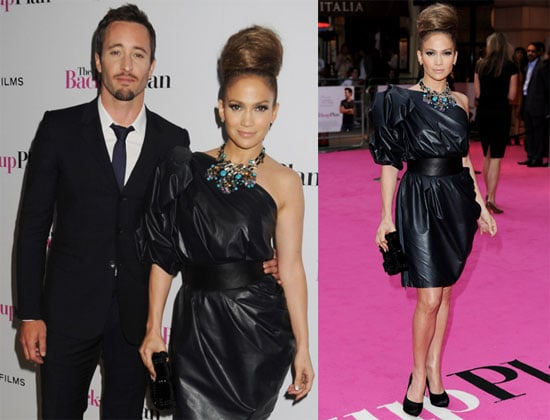 Pictures of Jennifer Lopez and Alex O'Loughlin at the London Premiere of The Back-up Plan