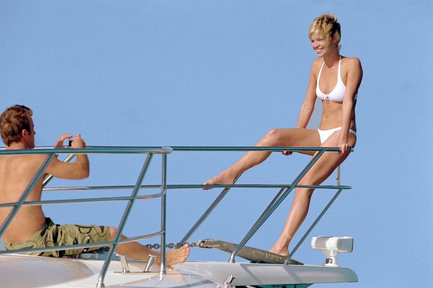 Bikini de bikini de Ashley scott