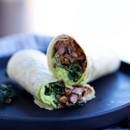Walnut Mushroom Burrito Recipe