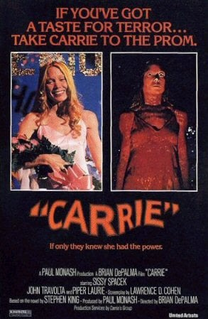 Frightful Friday: Carrie