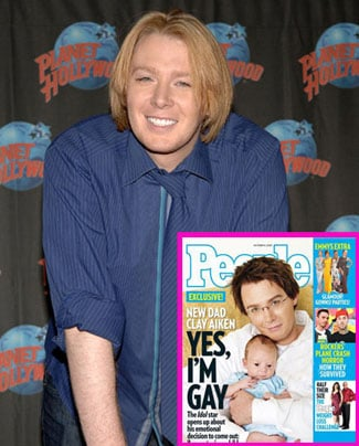 """Clay Aiken Proclaims on People: """"Yes, I'm Gay"""""""