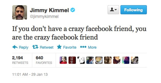 Well said, Jimmy. Well said.