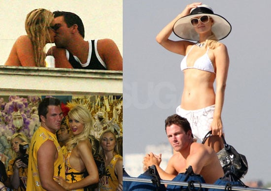 Photos of Paris Hilton in a Bikini While in Rio, Brazil With Doug Reinhardt to Promote Devassa Beer