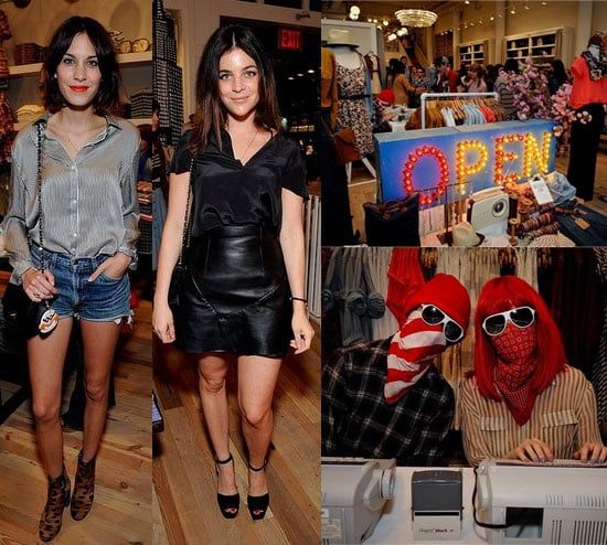PHOTOS Madewell 5th Avenue NYC Store Opening Party