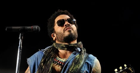 Lenny Kravitz Seems Unfazed By #Penisgate