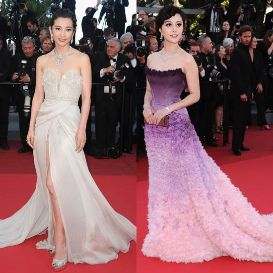 Li Bing Bing and Fan Bing Bing at Cannes Film Fest
