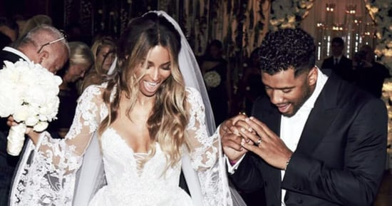 Shop Three Wedding Dresses Inspired by Ciara's Long-Sleeve, Lace Gown