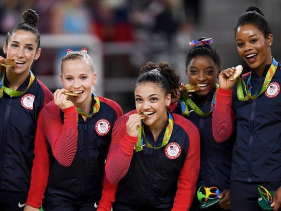 The Final Five Talked Beauty Products Over Pizza With Us (Find Out Laurie Hernandez's Go-To Eyeliner!)