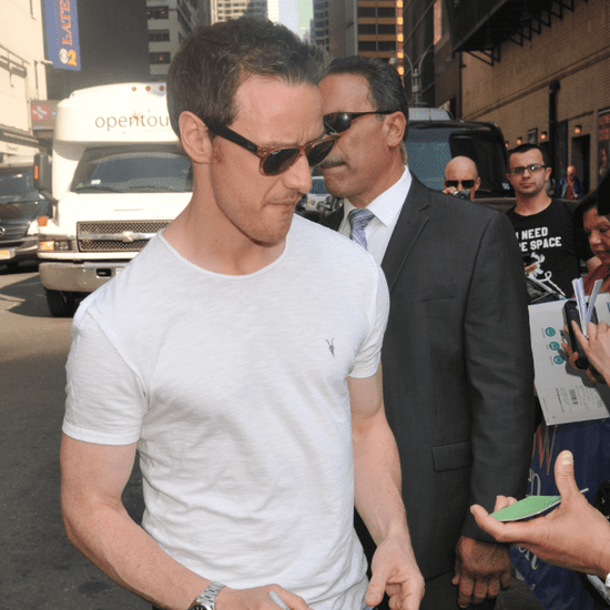 James McAvoy Out in NYC May 2016