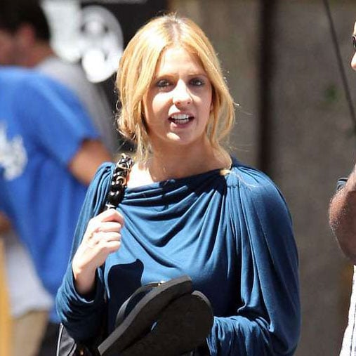 Sarah Michelle Gellar on the Ringer Set Pictures