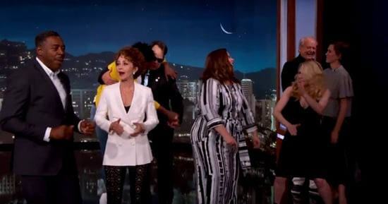 New Ghostbusters Meet Old on Kimmel