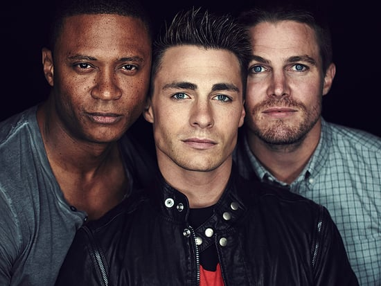 Arrow's Stephen Amell Sends Support to Colton Haynes After Coming Out: 'I'm Very Very Happy For Him'