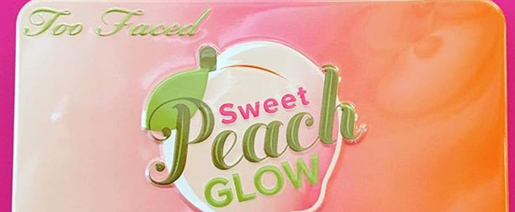 Too Faced's Founder Just Teased a Sweet Peach Highlighting Palette