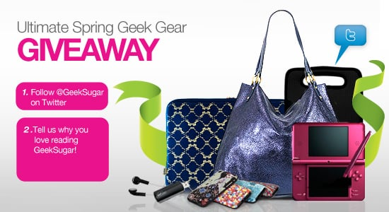 Win a Spring Gadget Prize Pack From GeekSugar