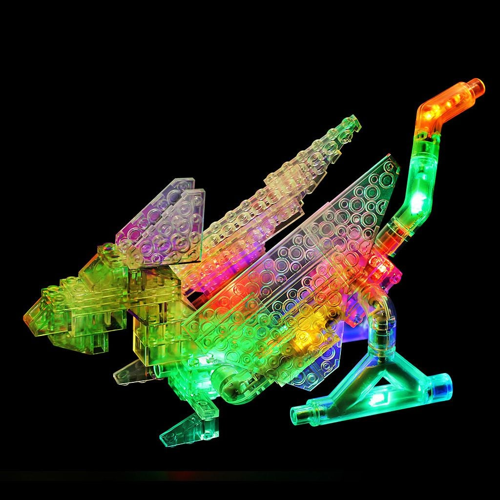 For 5-Year-Olds: Laser Pegs 57-in-1 Dragon Building Set