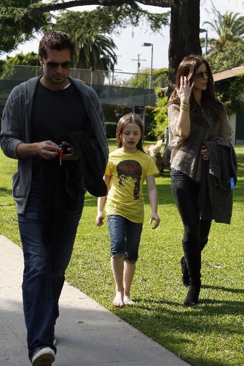 Kate, Len, and Lily Head to the Park