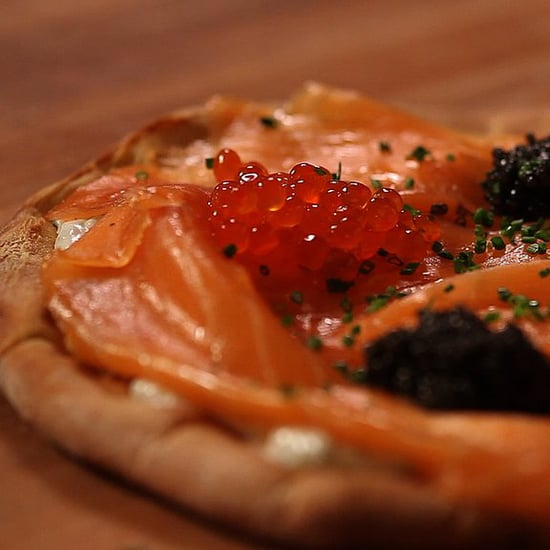 Wolfgang Puck's Smoked Salmon Pizza