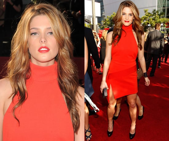 Photos of Ashley Greene in Red Versace Dress at 2010 ESPY Awards