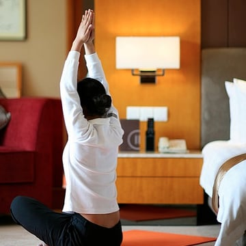 US Hotels With In-Room Fitness Amenities