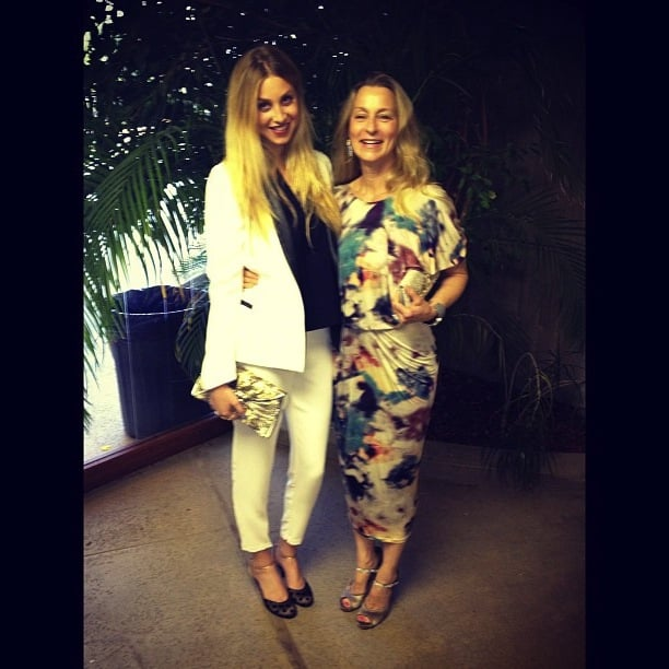 Whitney Port spent a sweet day hanging out with her mum. Source: Instagram user whitneyeveport