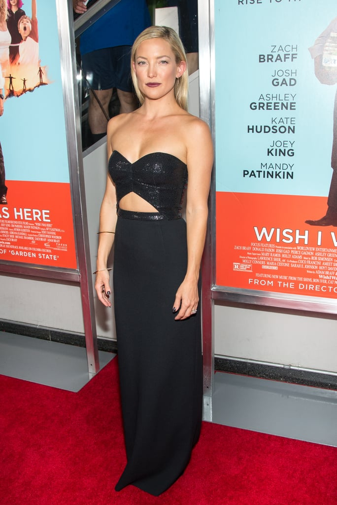 Kate Hudson stunned at the Wish I Was Here screening in NYC on Tuesday.