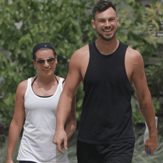 Lea Michele and Matthew Paetz Hold Hands   Pictures