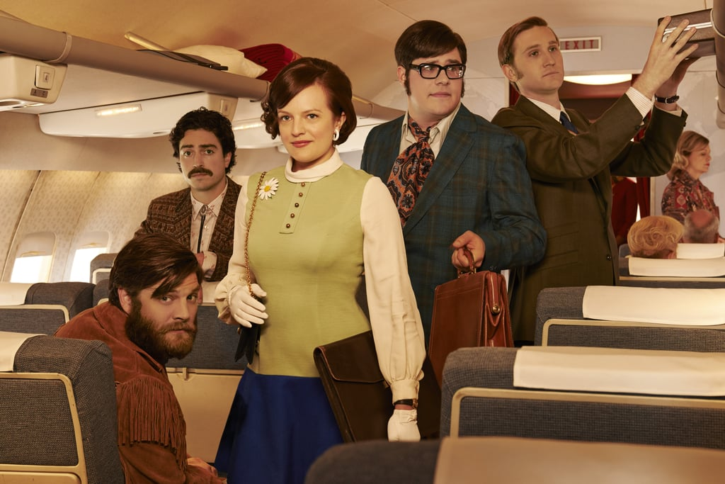 Peggy leads the ad team of herself, Stan Rizzo (Jay R. Ferguson), Michael Ginsberg (Ben Feldman), Harry Crane (Rich Sommer), and Ken Cosgrove (Aaron Staton).
