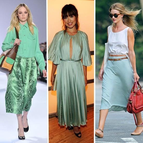 Mint Green Clothes