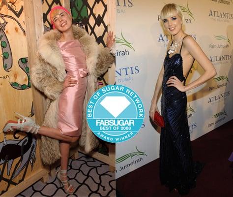 Agyness Deyn Wins Model of the Year